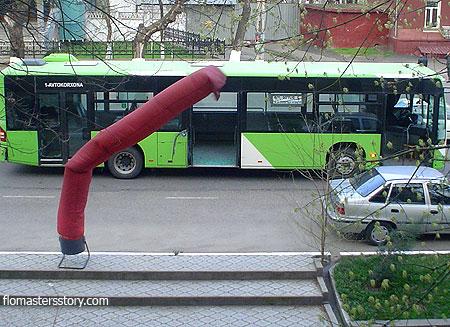 автобусы Ташкента