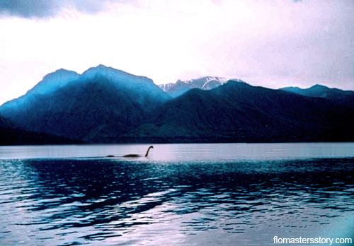 Несси в горном озере