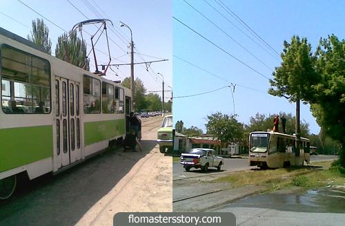 Ташкентские трамваи