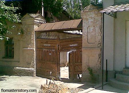 старые городские ворота