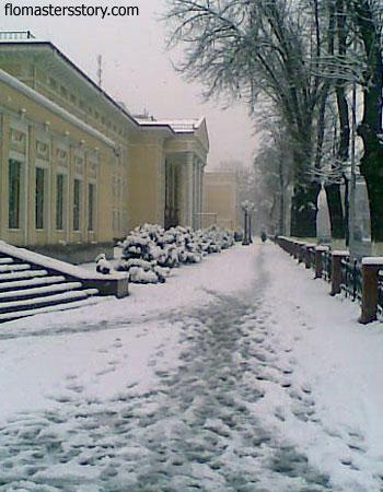 ташкентская зима