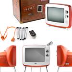 старые цветные телевизоры