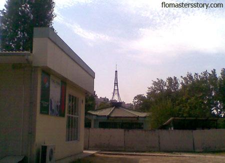 Эйфелева башня в Ташкенте