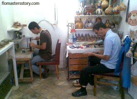 узбекские ремесленники