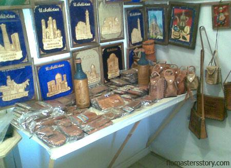 изделия узбекских мастеров