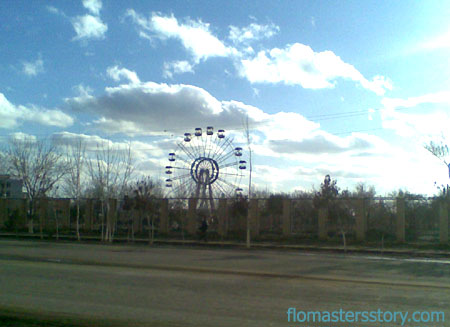 чертово колесо в Ургенче