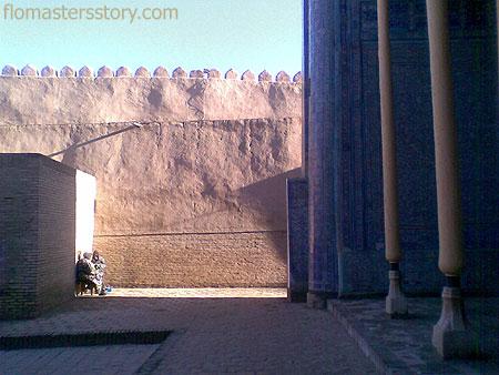 Хива внутри крепости