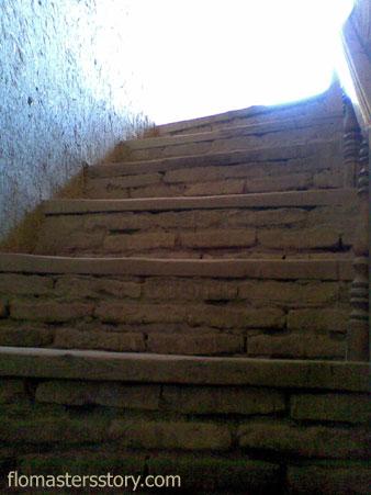 Хива лестница на крепостную стену