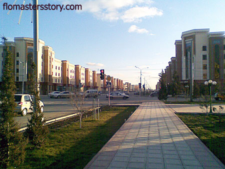улицы Ургенча