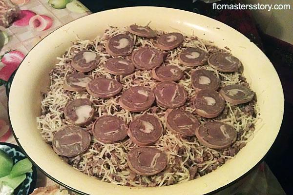 узбекское блюдо норин