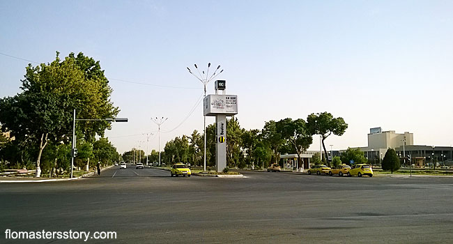 дороги в Бухаре