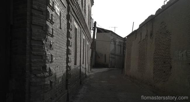 старые улицы Бухары