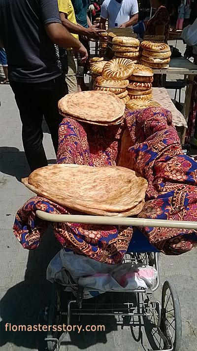 лепешка бухарская