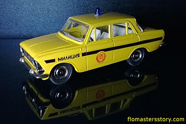 масштабные модели, москвич-412