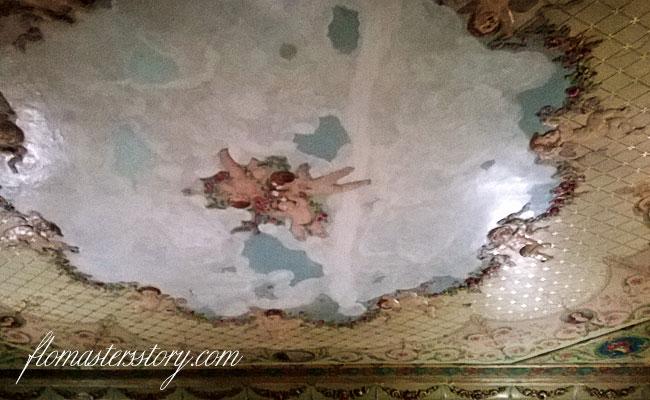 расписные  потолки