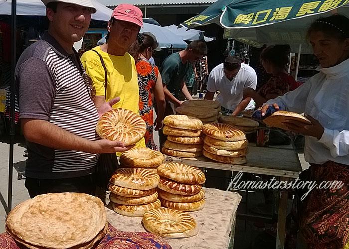 узбекские лепешки, рецепт, фото