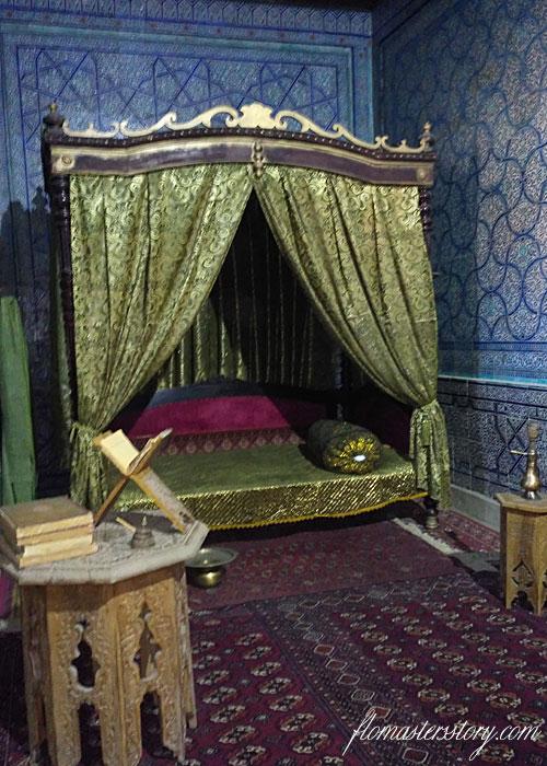 комната хивинского хана