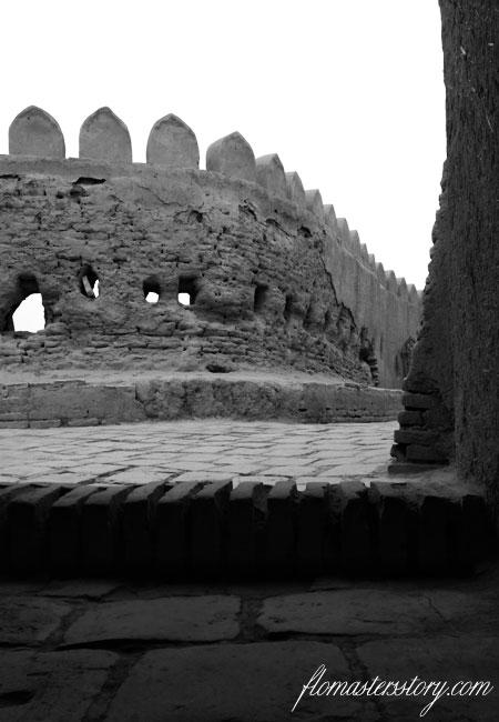 крепость Хивы