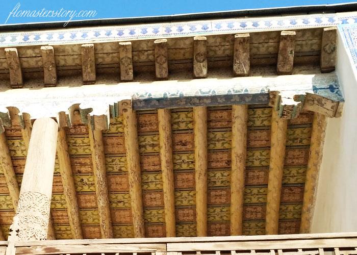 потолки Хивы