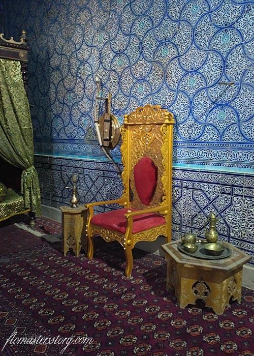ханский трон Хива