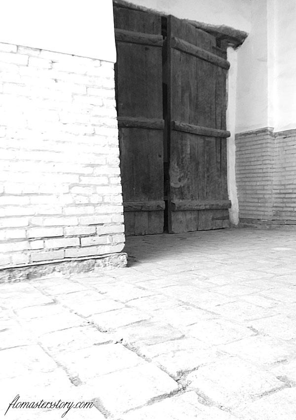 старинные двери Хивы