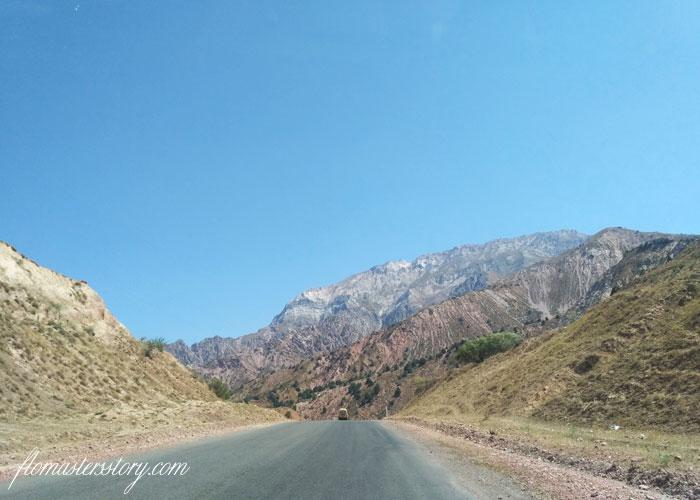 дороги Узбекистана