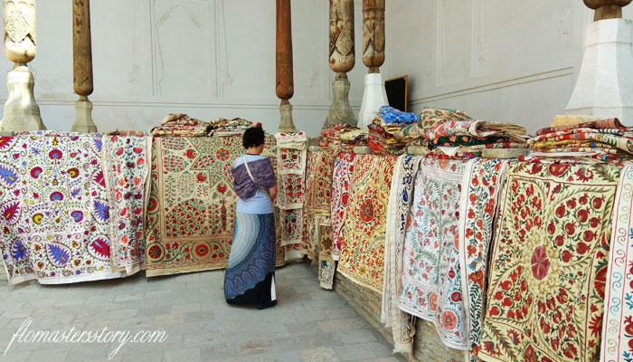 ковры Бухары