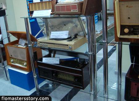 Магнитофоны и радиолы времен СССР