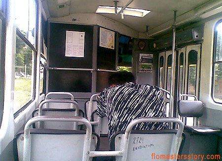 трамвай в Ташкенте