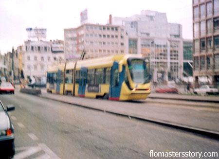 трамваи Брюсселя