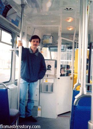 салон бельгийского трамвая