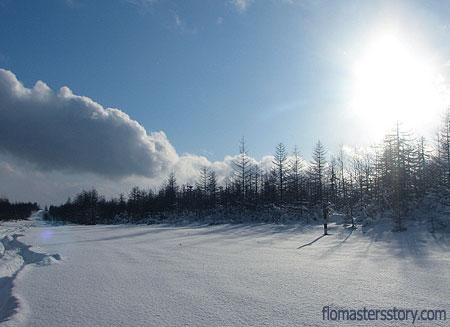 зимний Сахалин