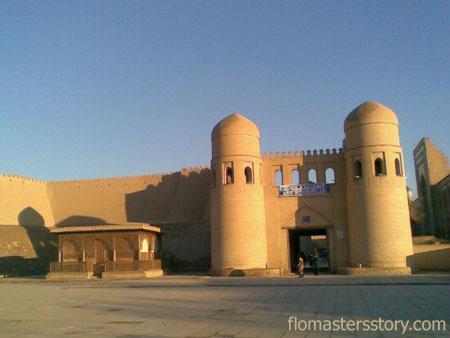 Хива вход в крепость