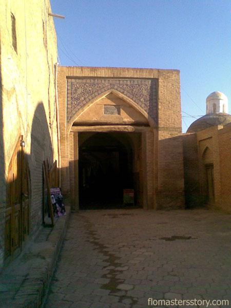 Хива выход из крепости