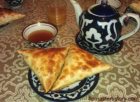 самса узбекская