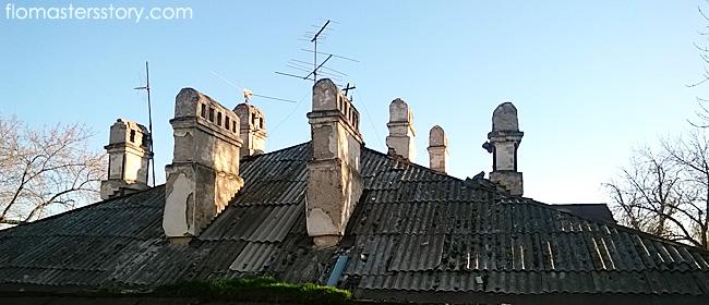крыши фото