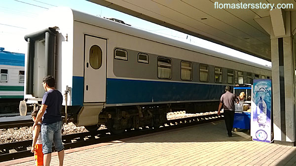 поезд Ташкент-Бухара
