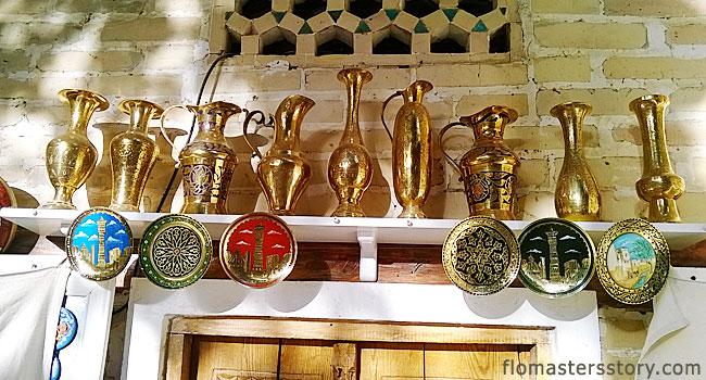 вазы из металла