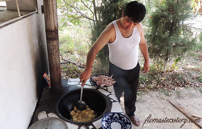 картошка для кабоба