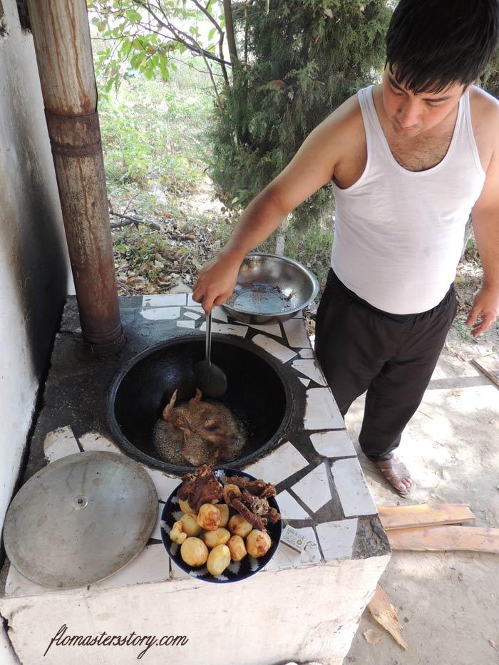 приготовить казан-кебаб