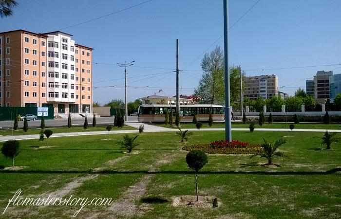 трамваи города Самарканд