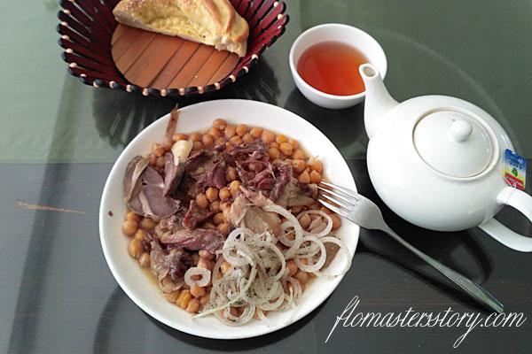 узбекские блюда из гороха