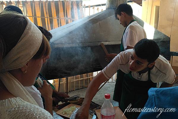 приготовить шашлык