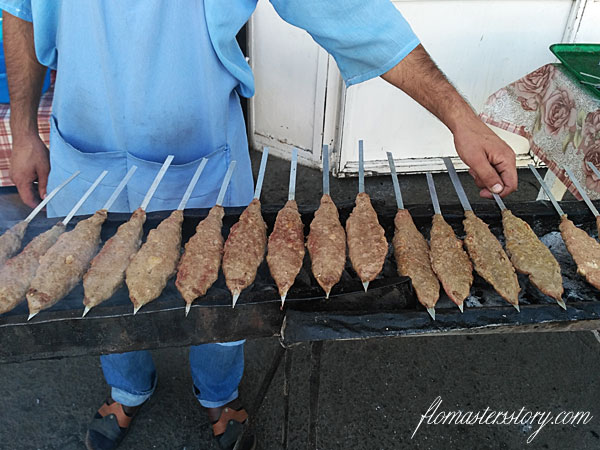 узбекский шашлык