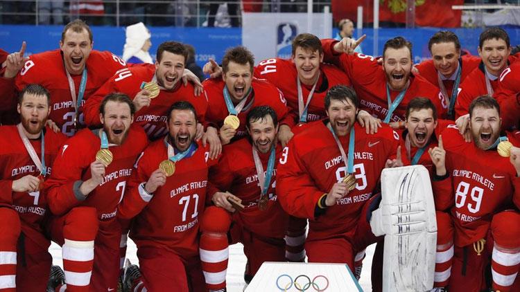 сборная России по хоккею 2018