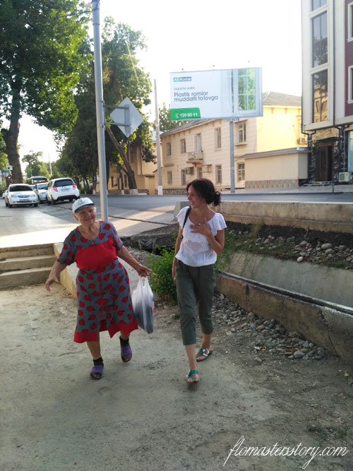 люди Ташкента