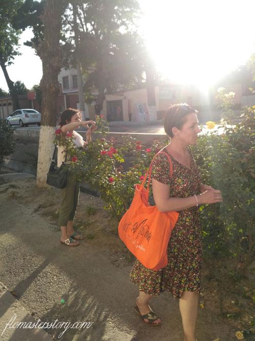 цветы Ташкента