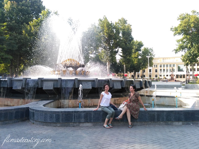 фонтаны Ташкента
