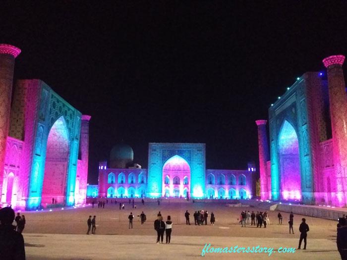 Цветной Регистан