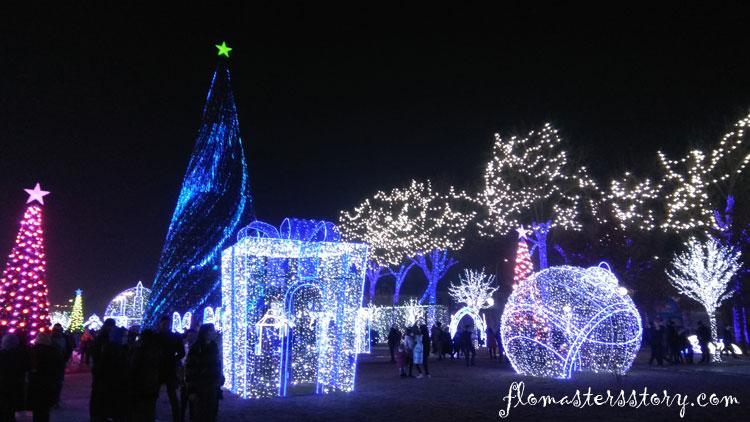 новогодняя ёлка в Ташкенте